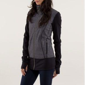 Lululemon Nice Asana Jacket Herringbone Size S